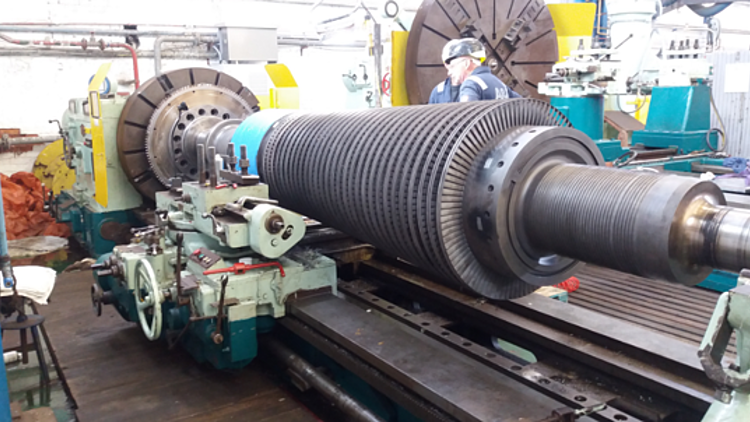 Repair & Refurbishment of Steam Turbines