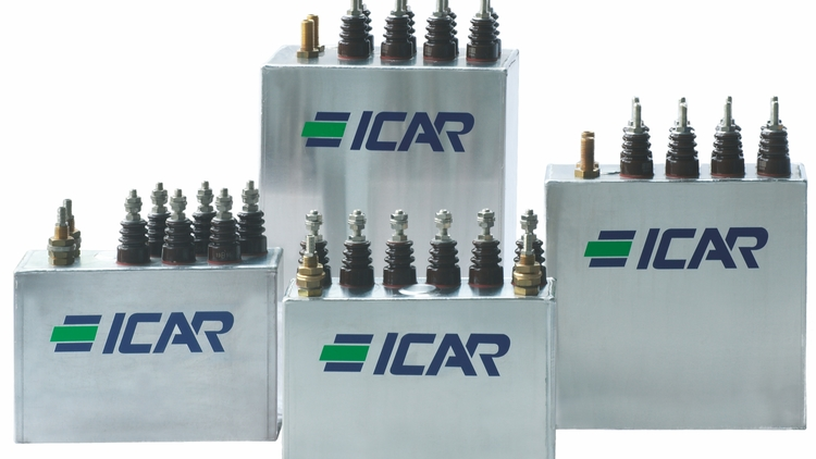 ICAR - Power Electronic Capacitors