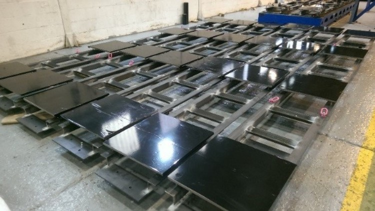 Vault Floor Plates and associated sub-structures for Box Encapsulation Plant Product Store